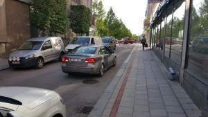 Trafik på torggatan